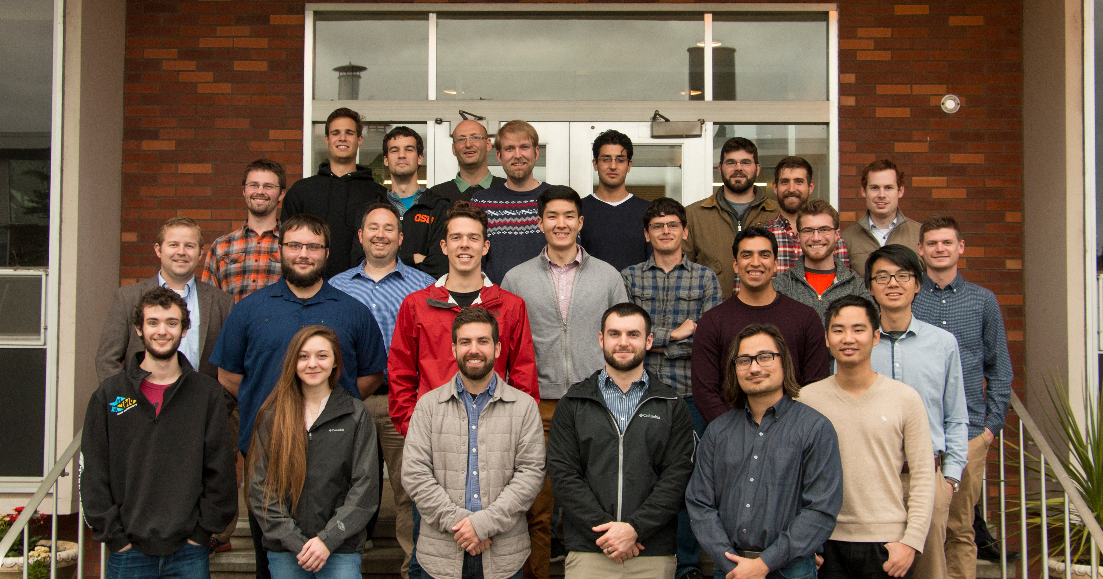 A group photo of the Marcum Research Group