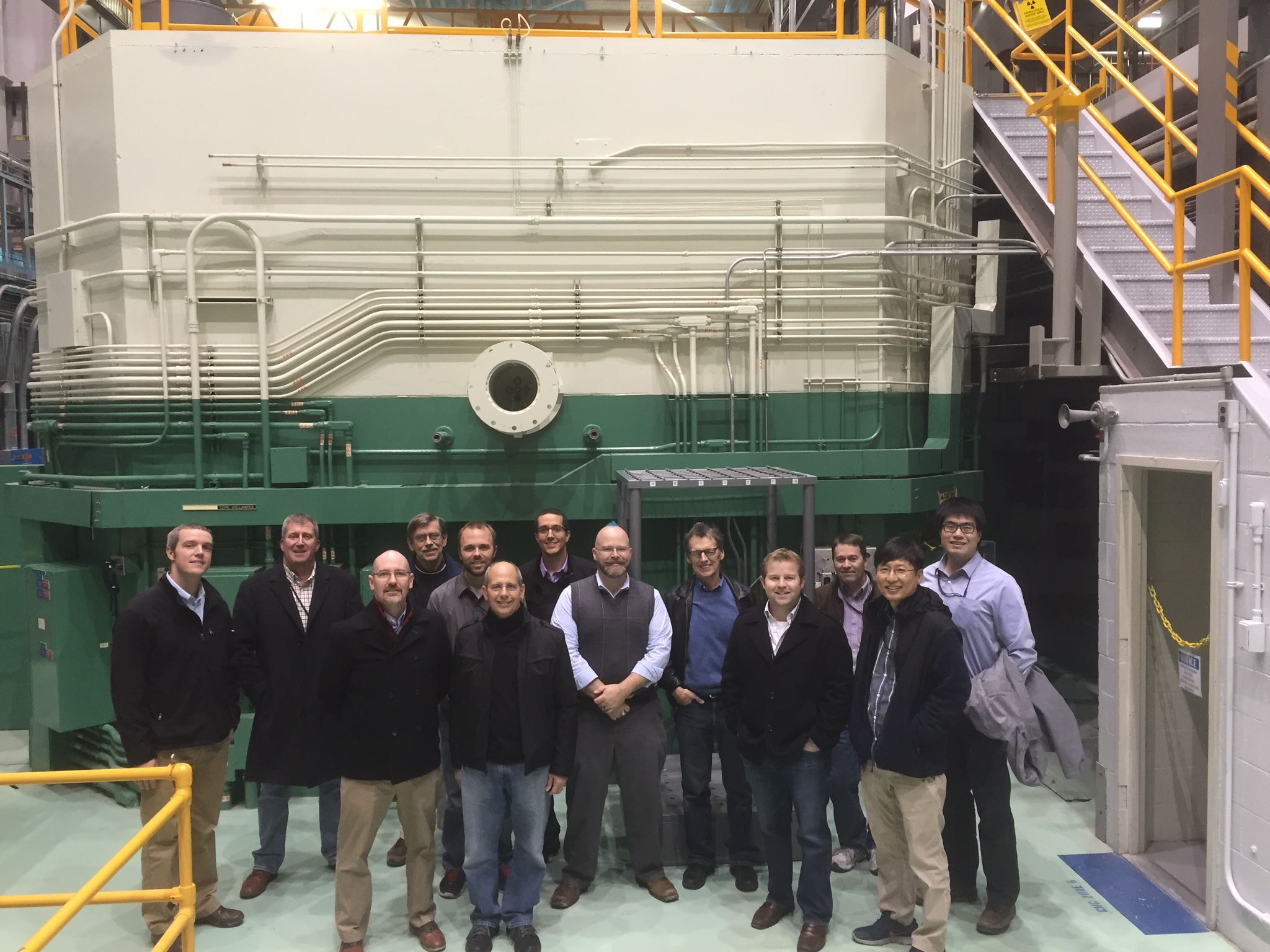 Tour of the TREAT Facility during the 2015 IRP Kickoff Meeting