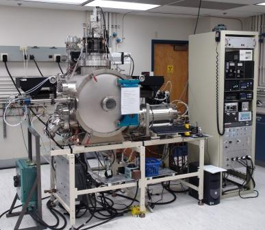 OSU constructed radio frequency sputter deposition system in Owen cleanroom