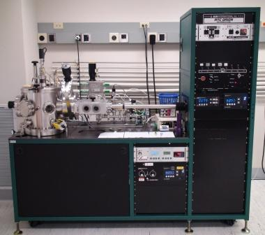 Orion 5 radio frequency sputter deposition system in Owen cleanroom